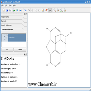 Download Molsketch 0.6.0 Draw Chemical Structures