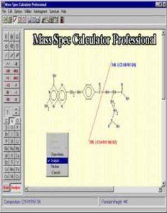 Download Mass Spec Calculator Professional 4.0