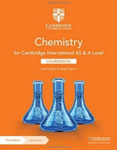Download Chemistry For Cambridge International AS & A Level Coursebook 3rd Edition