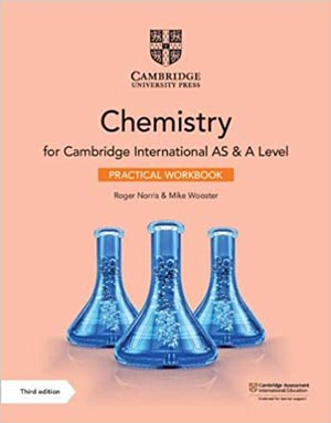 Download Chemistry For Cambridge International AS & A Level Practical Workbook 3rd Edition