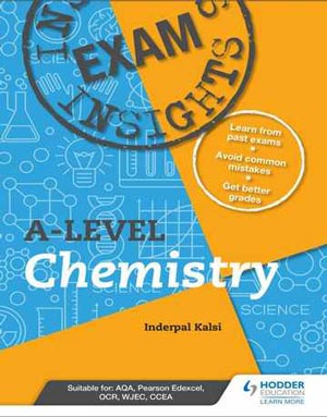 Download Exam Insights for A-level Chemistry 2020