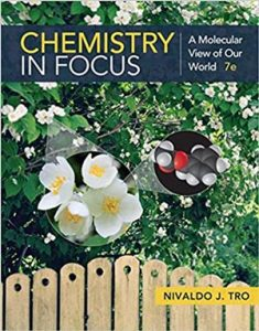 Download Chemistry in Focus: A Molecular View of Our World 7th edition