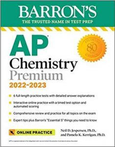 Download AP Chemistry Premium 2022-2023 (Barron's Test Prep)