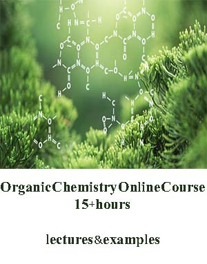 Download Organic Chemistry Online Course 15+hours lectures & examples