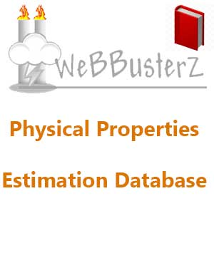 Download WeBBusterZ Physical Properties Estimation Database v3.6.1