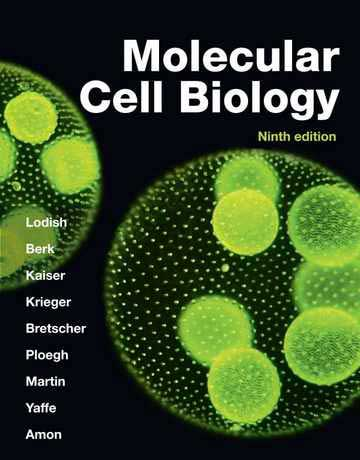 Download Molecular Cell Biology 9th Edition by Lodish 2021