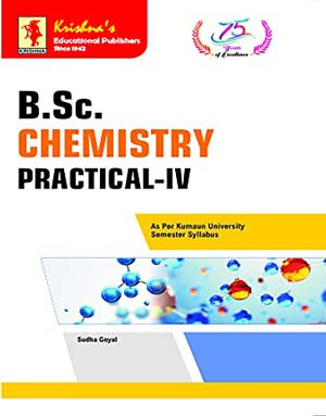 Download Krishna's BSc. Chemistry Practical IV Edition-1F 2021